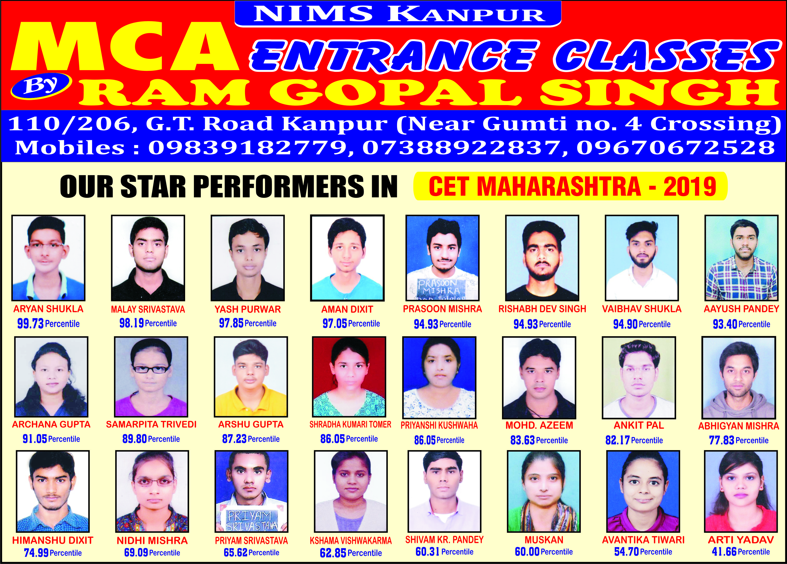 NIMS Kanpur: MCA Entrance Coaching Classes in Kanpur
